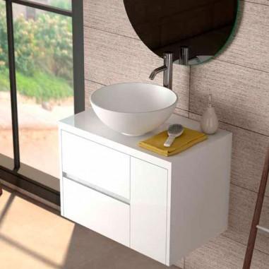 Mueble baño con encimera Aries