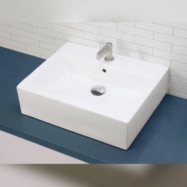 Lavabo Sobre encimera Rectangulo