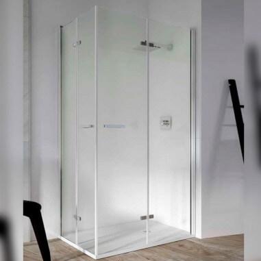 Tela dobrável retangular de banheiro