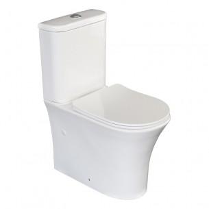 Fundo do vaso sanitário...