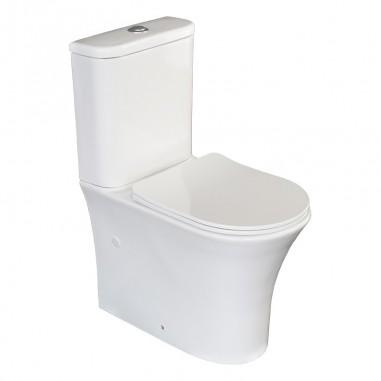 Fundo do vaso sanitário reduziu Navia