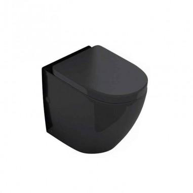Pack cisterna + inodoro compacto Verona Black