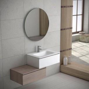 Armário de casa de banho Dupla