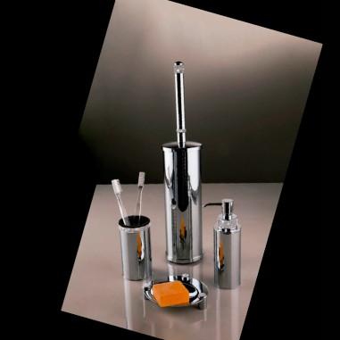 Accesorios baño con cristales Swarovski