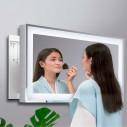 Espelho LED extensível retangular