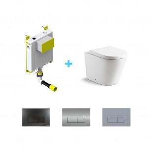 Pack cisterna + inodoro compacto Venecia