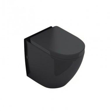 Inodoro negro compacto sin cisterna Verona Black