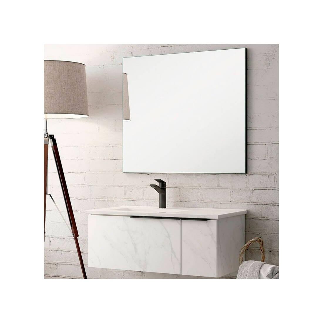 Mueble de baño suspendido Marmolado