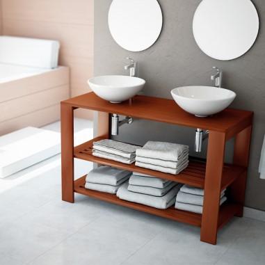 Mueble de baño de madera Cedar