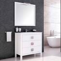 Armário de banheiro madeira