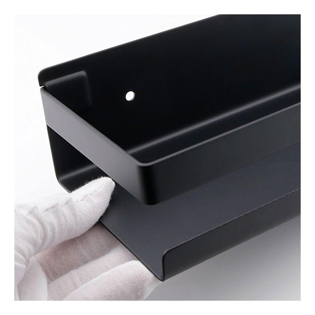 ▷ Portagel para tu ducha | Accesorios negros