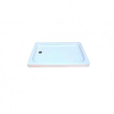 Pie de ducha cerámico rectangular