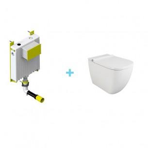 Pack inodoro Inteligente Kassel + Cisterna compacta