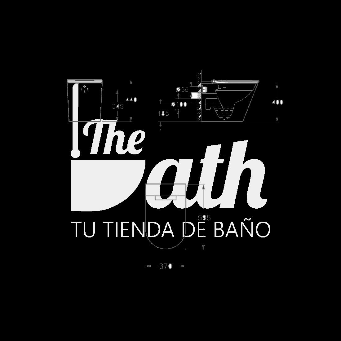 ▷ Inodoro compacto inteligente -【Lingen】- TheBath