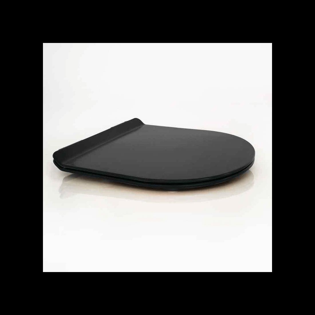 ▷ Inodoro suspendido Verona Black -【Fossil Natura】- TheBath