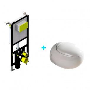 Pack inodoro Oval +...