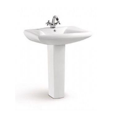Lavabo con pedestal Roma