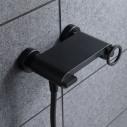 Grifo ducha negro mate