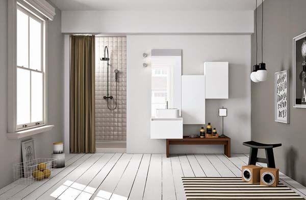 baños estilo nórdico