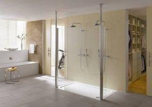 Convertir ducha en una ducha top