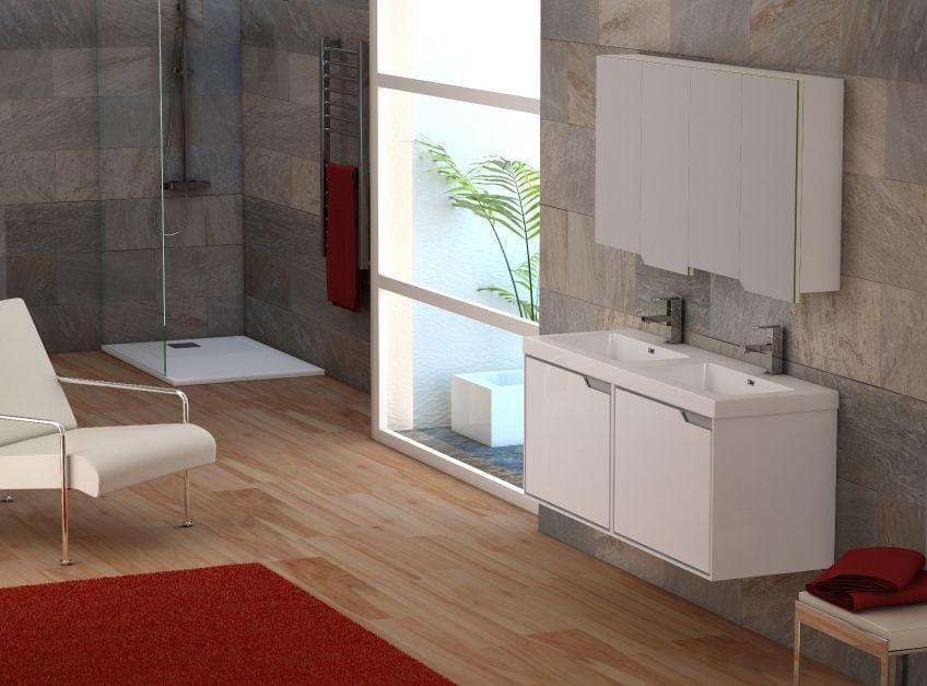 Mueble con lavabo incluido, la opción perfecta para baños pequeños