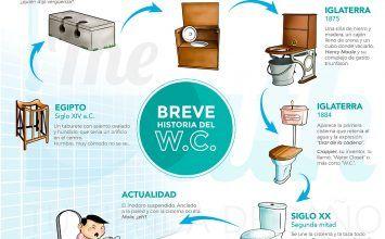 Infografía: La evolución del WC