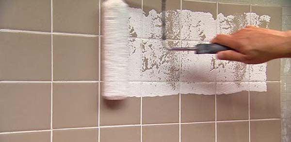¿Cómo pintar los azulejos del baño?