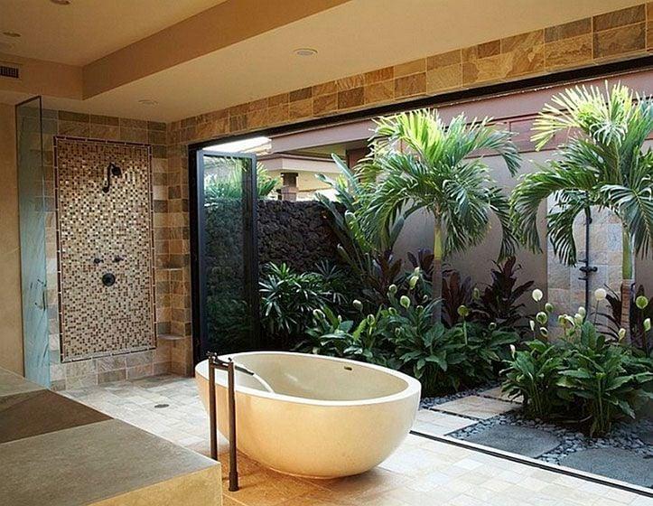 naturaleza a tu baño