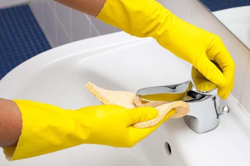 consejos para limpiar el baño
