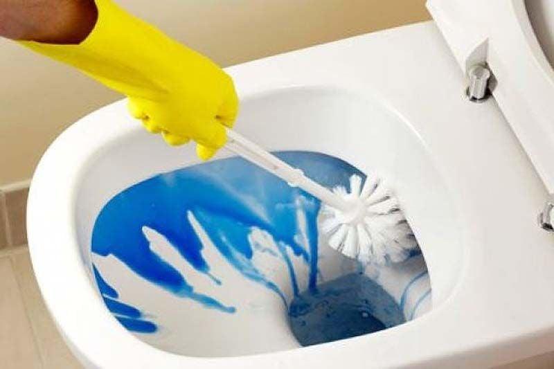 Mantener limpio el baño