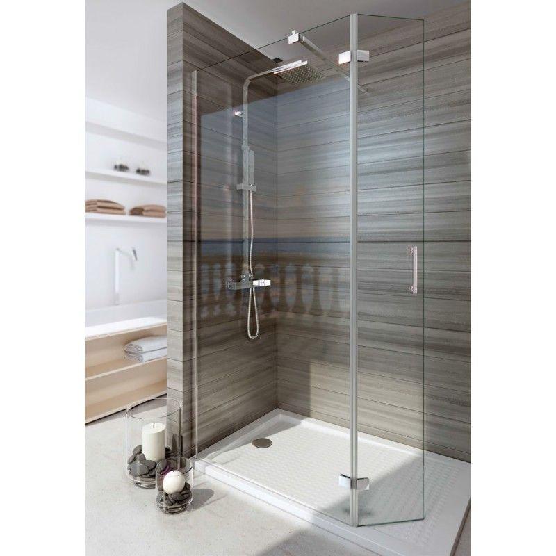 Tipos de mamparas de ducha - Cristal fijo para ducha ...