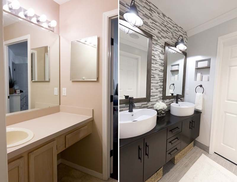reformas de baño antes y despues