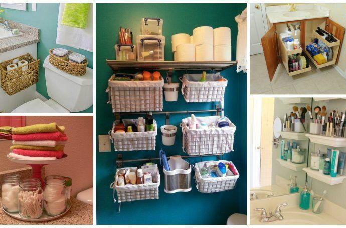 Organizar el ba o 3 ideas imprescindibles para tener todo for Como organizar el bano