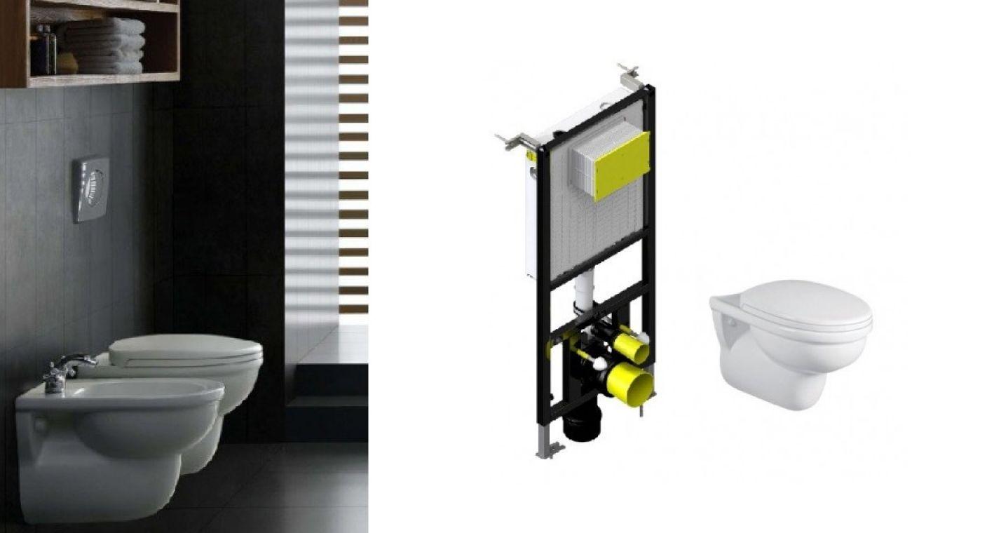 Juego de sanitario Niza, ideal para baños para restaurantes