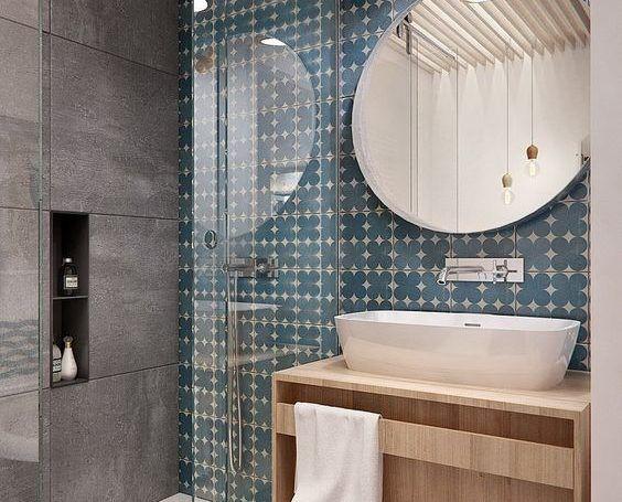 Espejos redondos para el baño: nueva tendencia