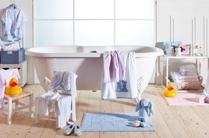 baño para bebé