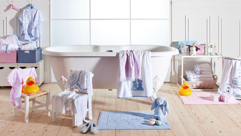 Check list para equipar un baño para bebé