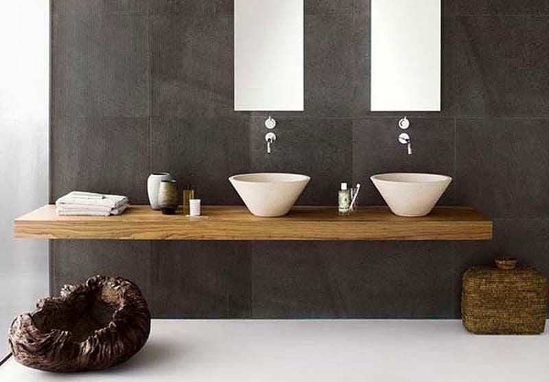 Decoración perfecta con lavabo sobre encimera | The Bath – Blog ...