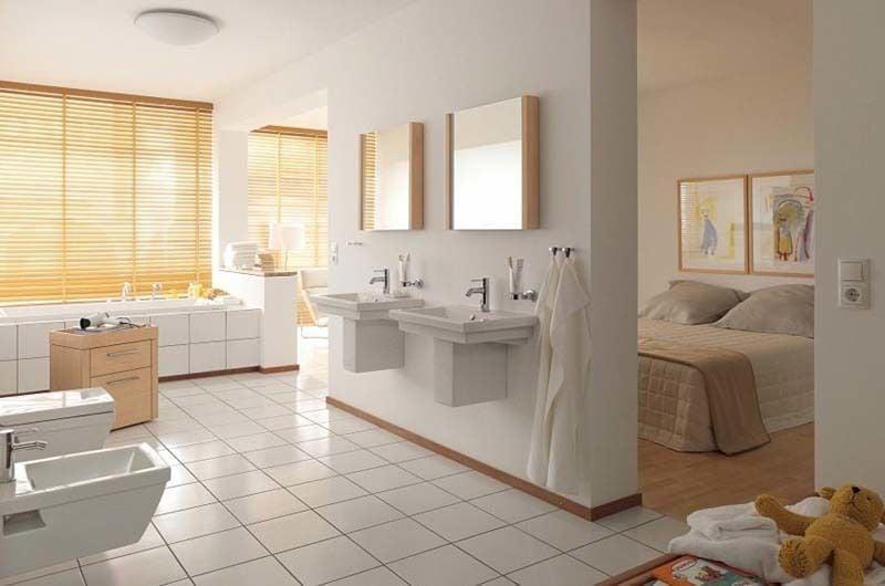 Decoración de baños con inodoros suspendidos