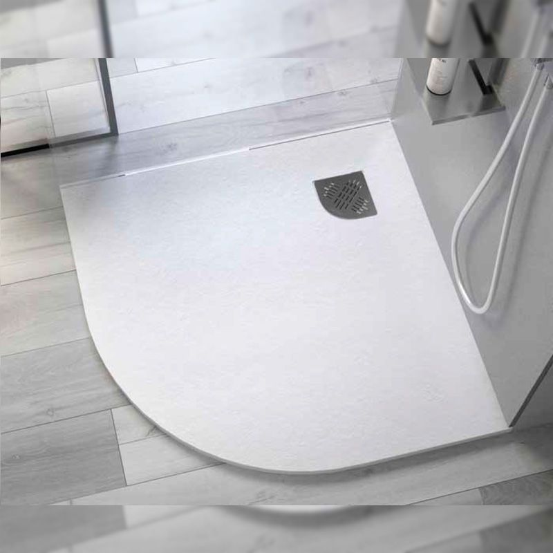 Sanitarios redondos la ltima tendencia en ba os Platos de ducha pequenos