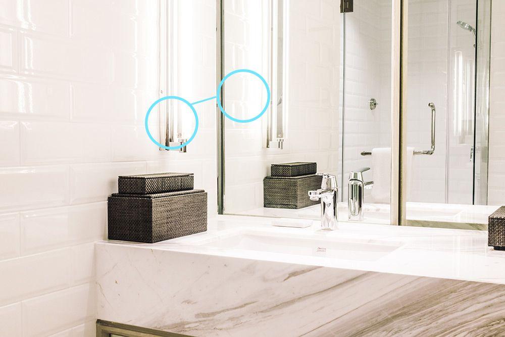 baños con luz