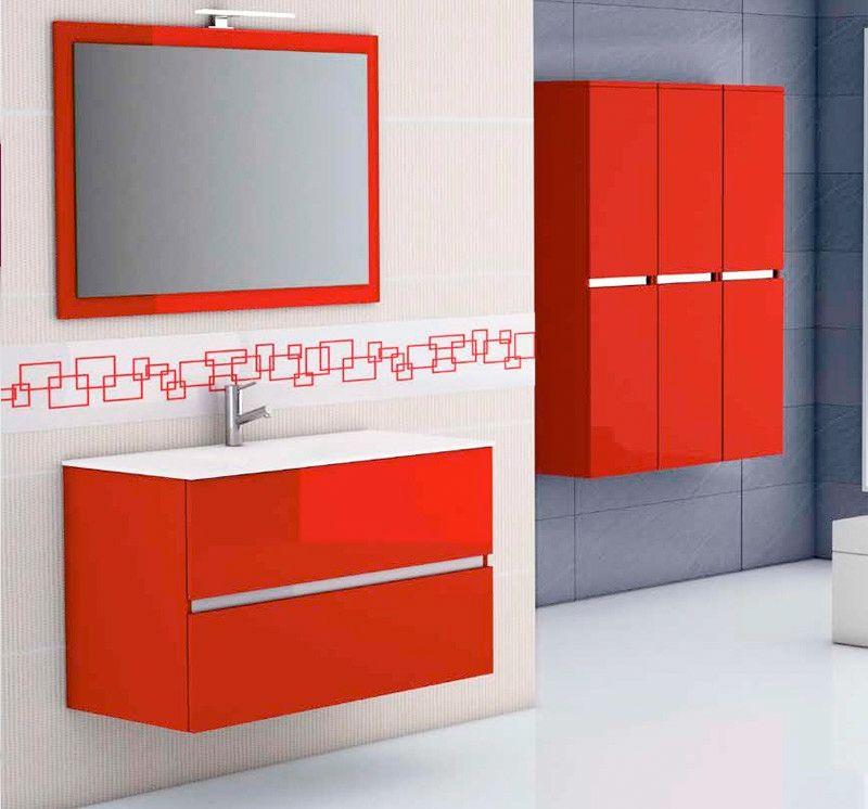 Muebles de baño de colores