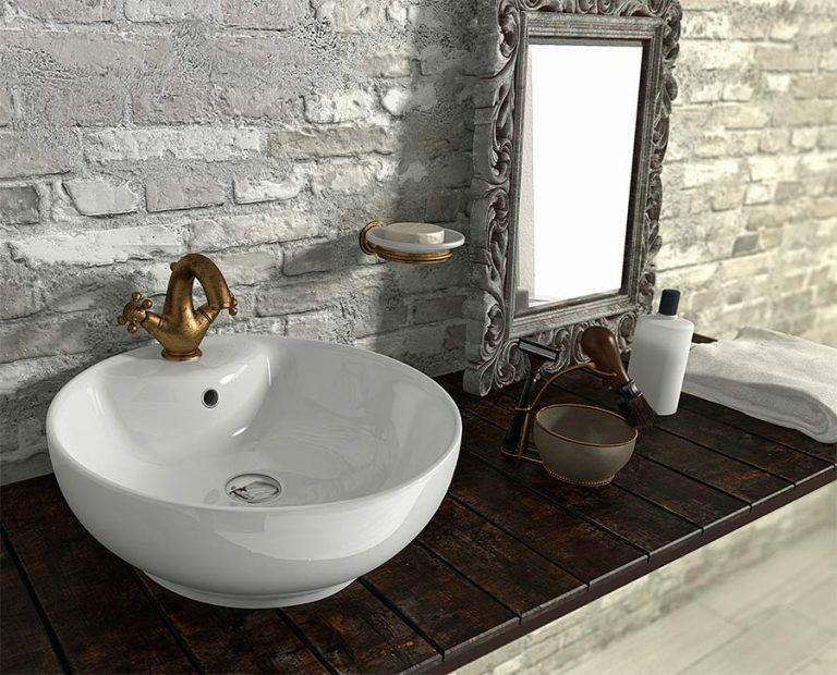 espejos de baño vintage