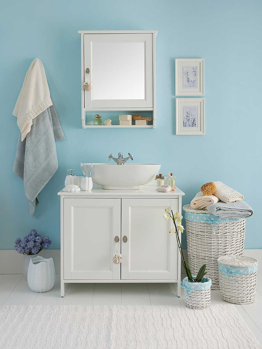 Pintar las paredes del baño