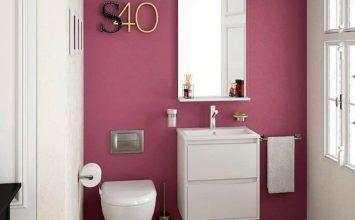 Artículos de baño que decoran un montón