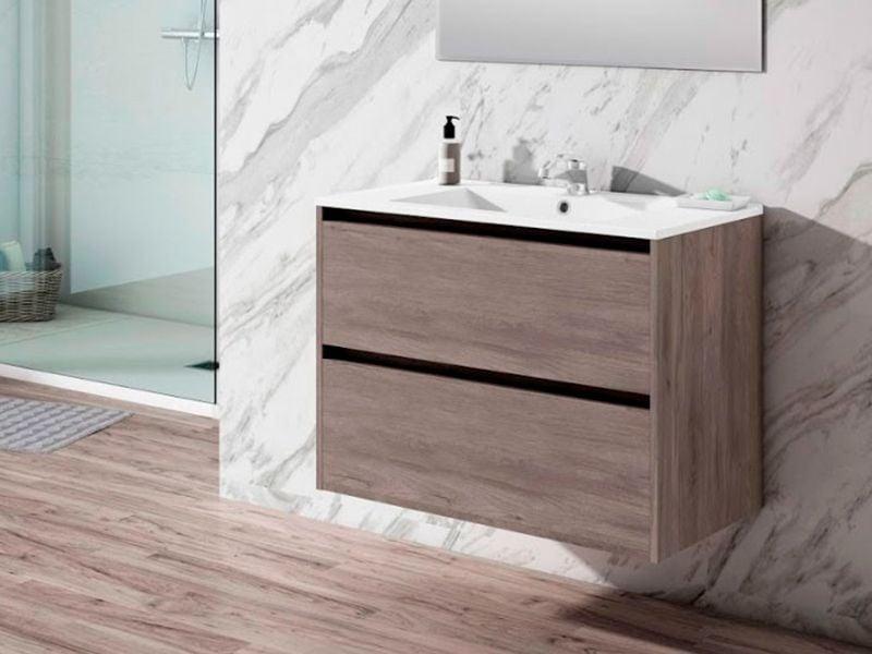 Renovar el suelo del baño sin obras