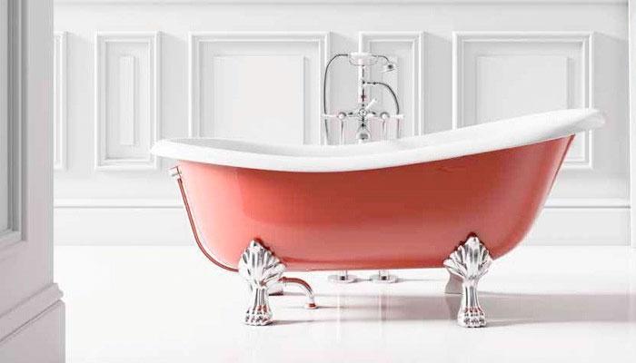 Bañeras exentas con patas