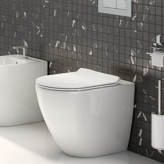 Inodoros a suelo en The Bath