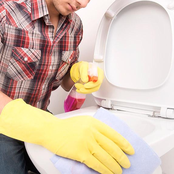 Limpiar inodoro