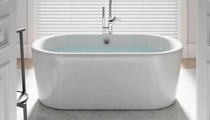 Bañeras independientes acrílicas